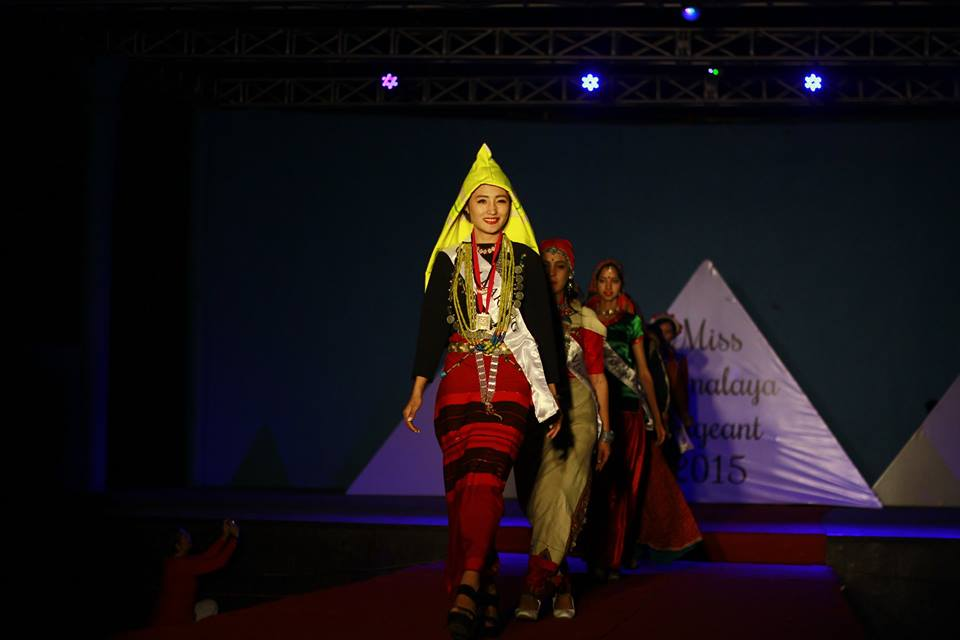Participants on stage during the final at TIPA Photo: Tenzin Phuljung