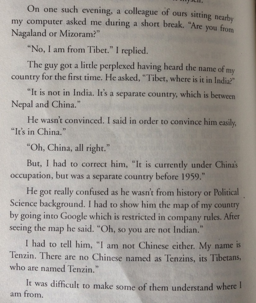 Screen shot of excerpt from the book